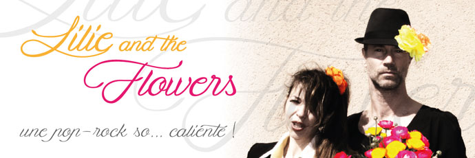 Lilie and the flowers